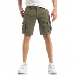 Pantaloni scurți bărbați Y-Chromosome verzi  2