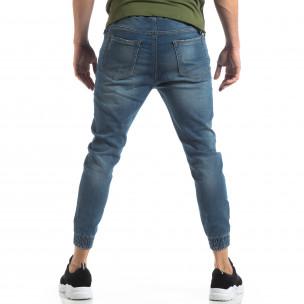 Jogger Jeans albaștri pentru bărbați 2