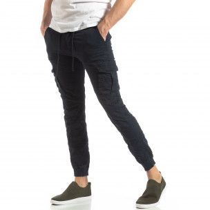Pantaloni cargo bărbați Y-Chromosome albaștri Y-Chromosome