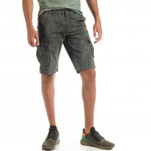 Pantaloni scurți bărbați Forest camouflage
