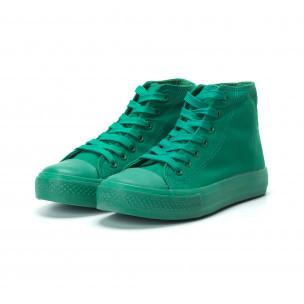 Teniși înalți verzi pentru dama 2
