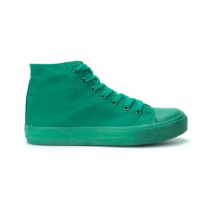 Teniși înalți verzi pentru dama