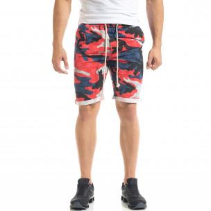 Pantaloni scurți bărbați Alpini Firenze camuflaj