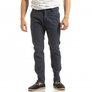 Pantaloni CHINO albaștri pentru bărbați