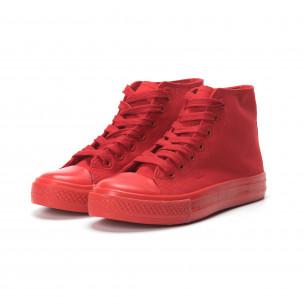 Teniși înalți roșii pentru dama 2