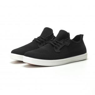 Pantofi sport ușori în negru pentru bărbați 2
