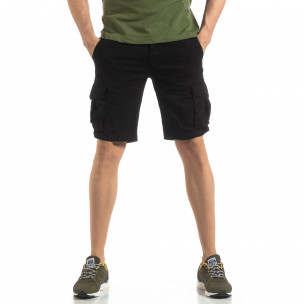 Pantaloni scurți bărbați Y-Chromosome negri