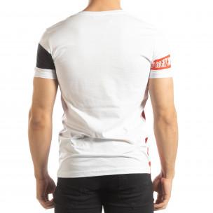 Tricou pentru bărbați alb Be Creative 2