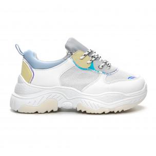 Pantofi sport de dama Chunky în mai multe culori