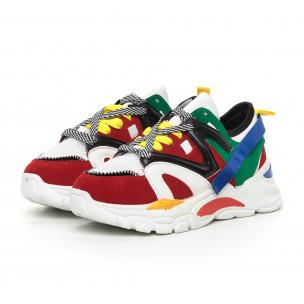 Pantofi sport de dama colorați design Chunky 2