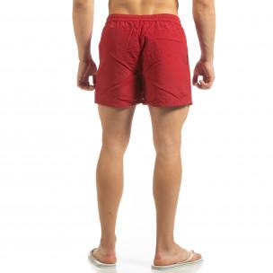 Costum de baie roșu pentru bărbați 2