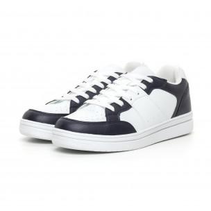 Teniși Skate în alb și albastru pentru bărbați Flair 2
