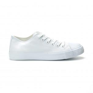 Teniși albi model Basic pentru bărbați