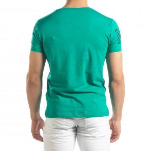 Tricou pentru bărbați verde Watch  2