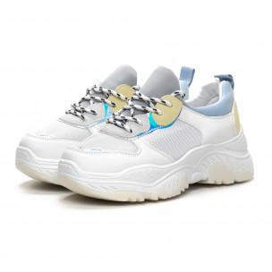 Pantofi sport de dama Chunky în mai multe culori 2