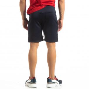 Pantaloni scurți de sport albaștri GOOD pentru bărbați 2