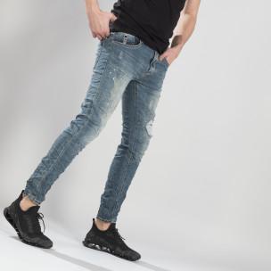 Blugi pentru bărbați cu efect decolorat și șifonat Always Jeans