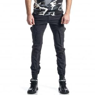 Pantaloni cargo bărbați G-9 gri
