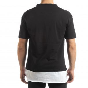 Tricou negru Darth Vader pentru bărbați 2