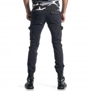 Pantaloni cargo bărbați G-9 gri 2