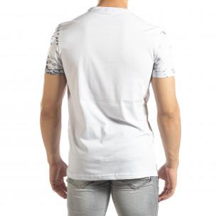 Tricou pentru bărbați alb Life 2