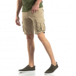 Pantaloni scurți bărbați Y-Chromosome bej