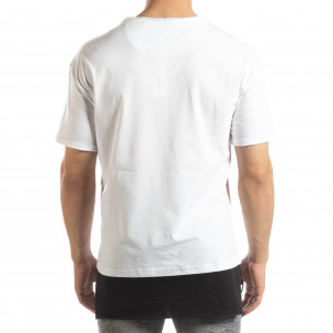 Tricou alb Darth Vader pentru bărbați  2
