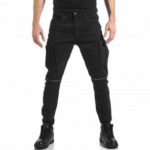 Pantaloni cargo bărbați Always Jeans negri