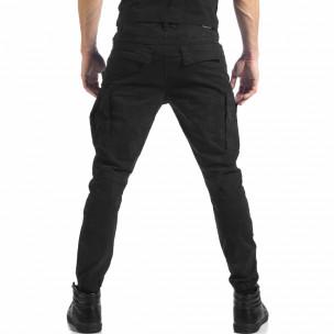 Pantaloni cargo bărbați Always Jeans negri 2