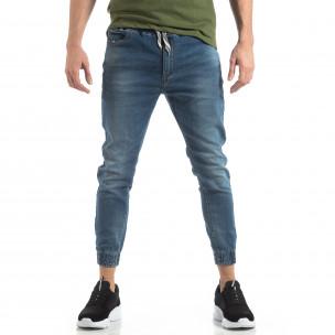 Jogger Jeans albaștri pentru bărbați