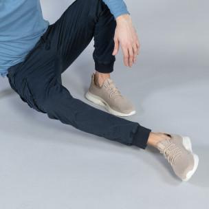 Pantaloni cargo Jogger în albastru închis pentru bărbați  2