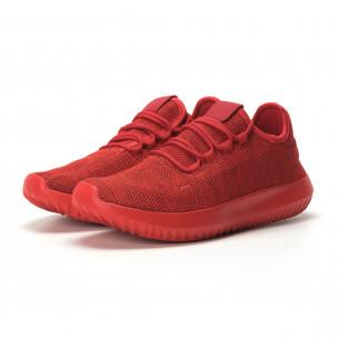 Adidași pentru bărbați All red model ușor Kiss GoGo 2