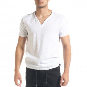 Tricou bărbați Ficko alb