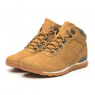 Pantofi de bărbați tip Hiker camel 2