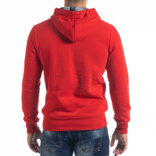 Hanorac hoodie de bărbați roșu Originals 2