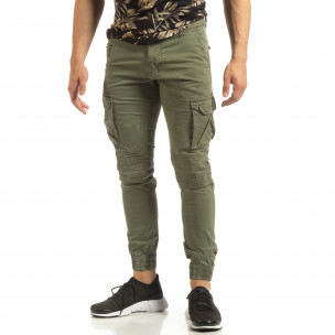 Cargo Jogger de bărbați verde stil rocker Furia Rossa 2
