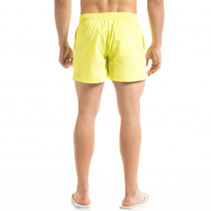 Costume de baie bărbați Warren Webber galben  2