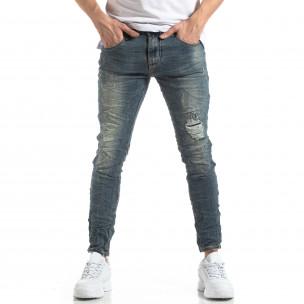 Blugi pentru bărbați cu efect decolorat și șifonat Always Jeans 2