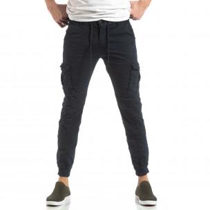Pantaloni cargo bărbați Y-Chromosome albaștri Y-Chromosome 2