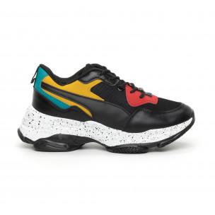 Pantofi sport de dama colorați Chunky