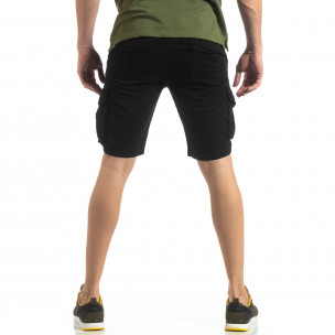 Pantaloni scurți bărbați Y-Chromosome negri  2