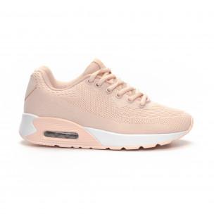 Pantofi sport roz de dama cu perna de aer