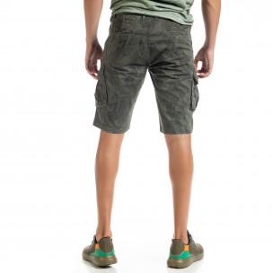 Pantaloni scurți bărbați Forest camouflage  2