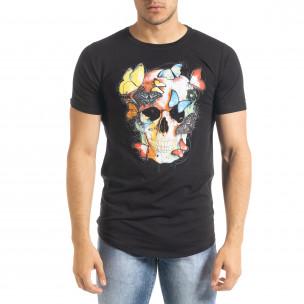 Tricou bărbați Flex Style negru 2