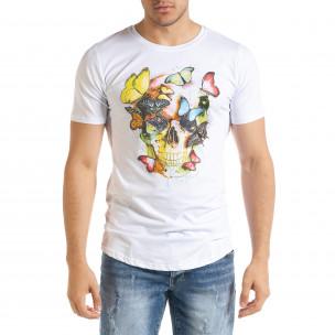 Tricou bărbați Flex Style alb