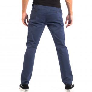 Pantaloni albaștri Chino pentru bărbați CROPP  2
