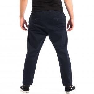 Pantaloni Cropped albaștri pentru bărbați 2