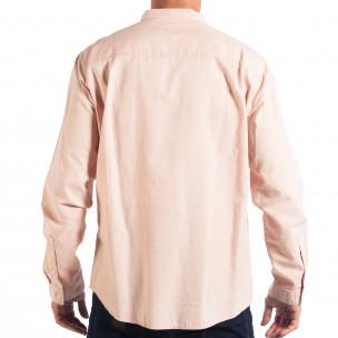 Cămașă roz pentru bărbați RESERVED tip Regular  2