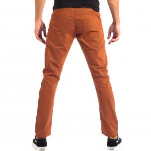 Pantaloni subțiri în camel pentru bărbați CROPP   2
