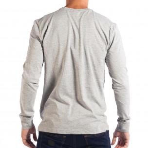 Bluză gri pentru bărbați House UNFOLLOW 2